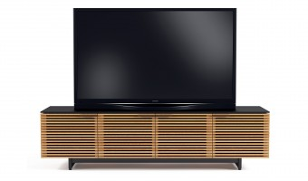BDI Corridor 8173 Tv Cabinet white oak Hansen Interiors