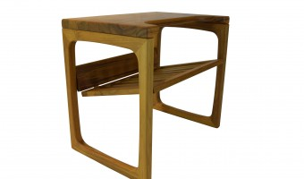 End table solid Teak