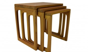 Teak Nest Of Tables